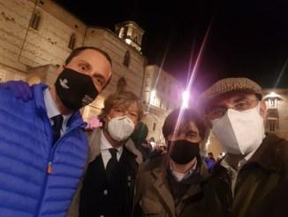 La Lega di Perugia scende in strada a fianco di ristoratori e gestori palestre