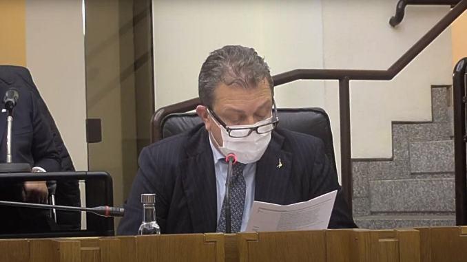 Luca Coletto, assessore sanità umbra, positivo al covid-19, giunta in quarantena