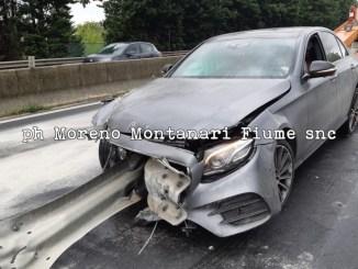 Tamponamento a catena sulla superstrada a Spello, 7 auto coinvolte