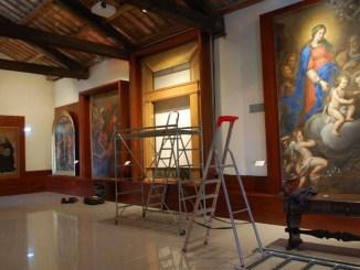 Restaurate grazie alla Carit opere d'arte di Pittore Umbro