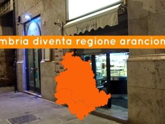 Umbria entra da domenica in fascia arancione, è ufficiale