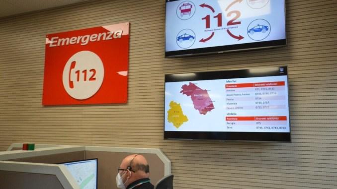 Sicurezza: Cur 112 Umbria Marche, metà delle chiamate non emergenza