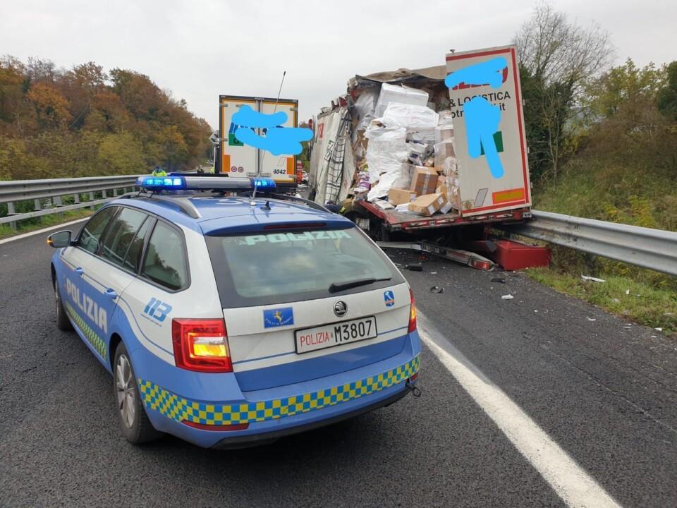 Incidente in A1, riaperto il tratto compreso Orvieto Orte in direzione Roma