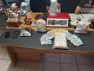 Bloccato con tre chili di cocaina, arrestato dai Carabinieri di Ponte Pattoli