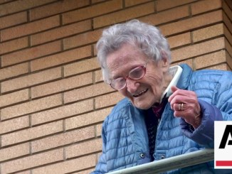 Nonna Lisa Zappitelli 109 anni, entusiasmo a Castello, famosa nel mondo