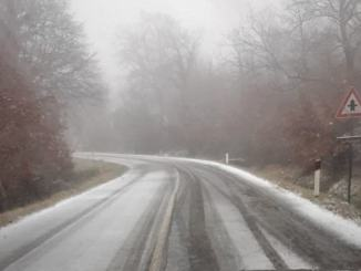 Maltempo, nevica su zone collinari Orvietano, attivati interventi Provincia su rete viaria