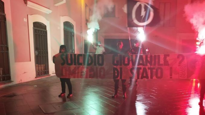 Blocco studentesco: suicidio giovanile? Omicidio di stato