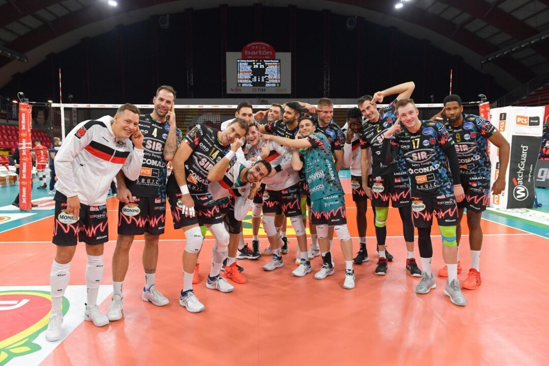 Sir Safety Conad Perugia batte Consar Ravenna 3-1