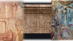 ✍ Amelia, l'ara di Iside scoperta nel 2012,culto misterico, affascinò l'impero
