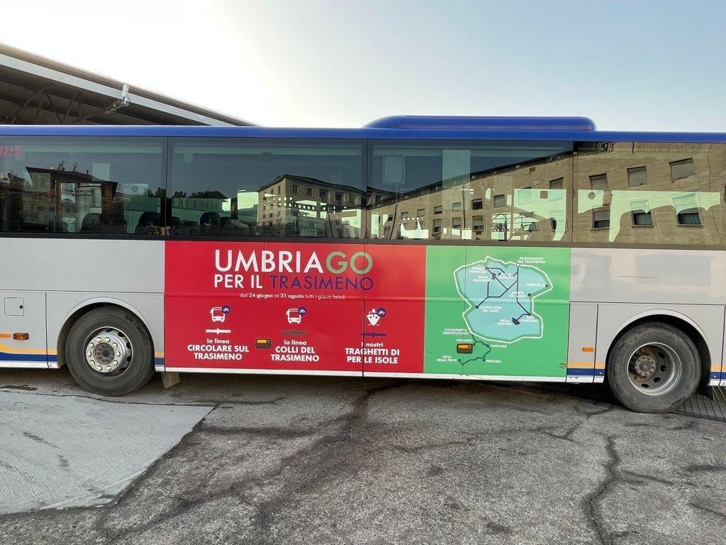 Umbria.GO titolo sperimentale di viaggio e tutte le strade portano al Lago