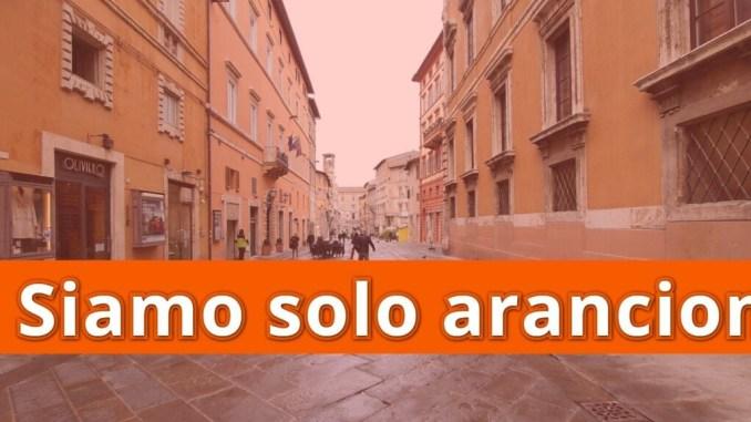 "L'Umbria ""cuore arancione d'Italia"", indice Rt 0,93, in Italia è 1,16"