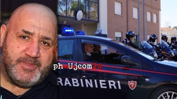 Carabinieri in lutto, morto per covid il brigadiere capo, Fiorenzo Meccariello