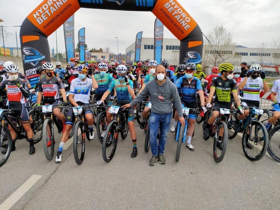 Orvieto Wine Marathon Mt Bike, vince belga Wout Alleman, secondo Paez