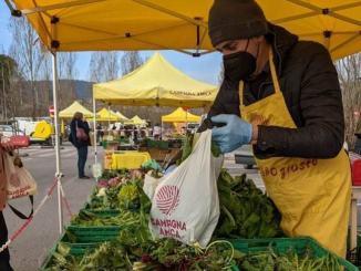 Coldiretti Umbria con pandemia crescono acquisti nei mercati contadini