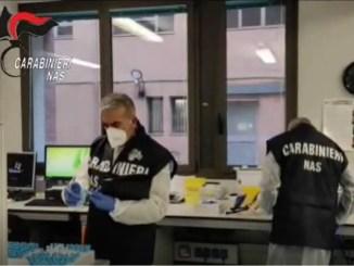 Sequestri Nas in tutta Italia di lotto vaccino covid AstraZeneca