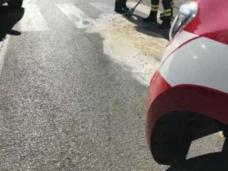 Sono giorni movimentati a Fontivegge, tra sequestri e perdite di gasolio