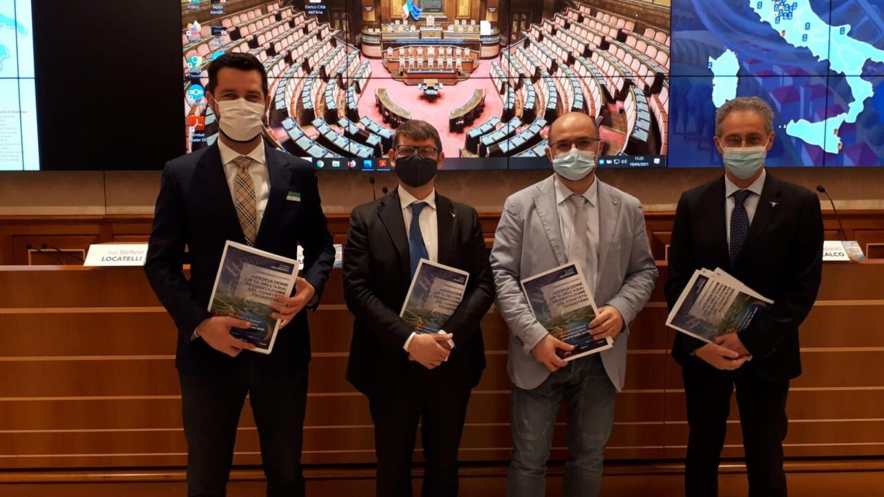 """Nasce l'associazione """"Città dell'Aria"""" presentata ufficialmente l'iniziativa a Roma"""
