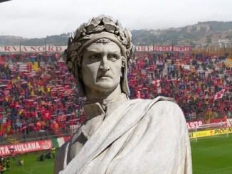 Lo spareggio a distanza Perugia-Padova, per chi fa il tifo Dante Alighieri?