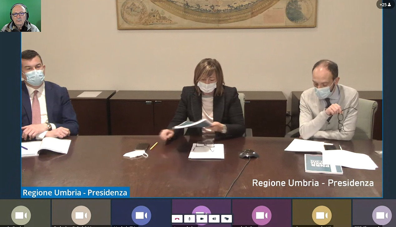 Pnrr dell'Umbria, dopo fase 3 emergenza covid, ripresa e resilienza