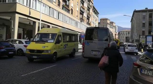 Trasporto scolastico, la Cmt manifesta a Terni contro il bando comunale