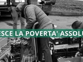 Dl sostegni: Istat, in 2020 oltre 2 mln famiglie in povertà assoluta, +335 mila famiglie