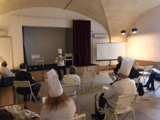 Cuochi e addetti ai lavori del settore ristorazione dell'Umbria ancora in protesta