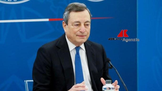 """Via libera del governo al Decreto sostegni bis, Draghi: """"Nessuno lasciato indietro"""""""