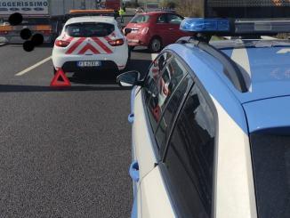 Incidente stradale sull'A1 ad Orvieto, 4 feriti tutti lievi