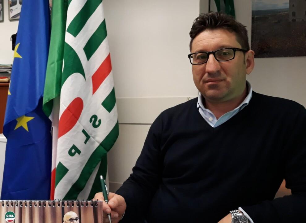 Marco Carlini è il nuovo segretario generale della SLP CISL Umbria
