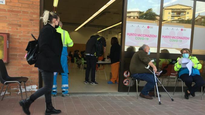 Chiarimenti su vaccinazioni al punto vaccinale di Ponte D'Oddi (Pg)