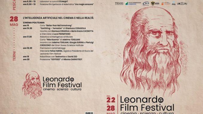 Leonardo Film Festival tra Abruzzo e Umbria 22-28 maggio
