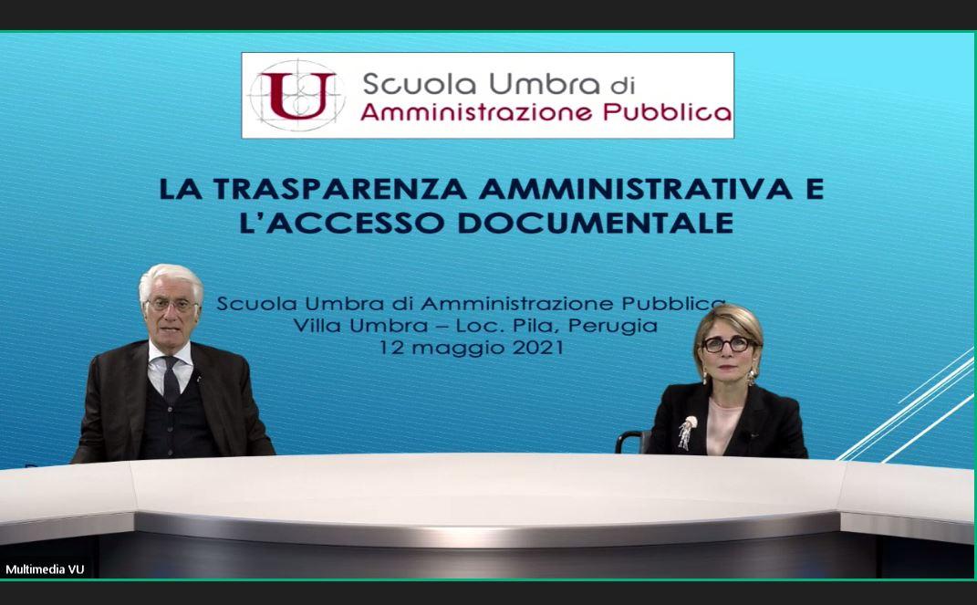 Trasparenza Pa e accesso, oltre 200 iscritti al webinar della Scuola Umbra