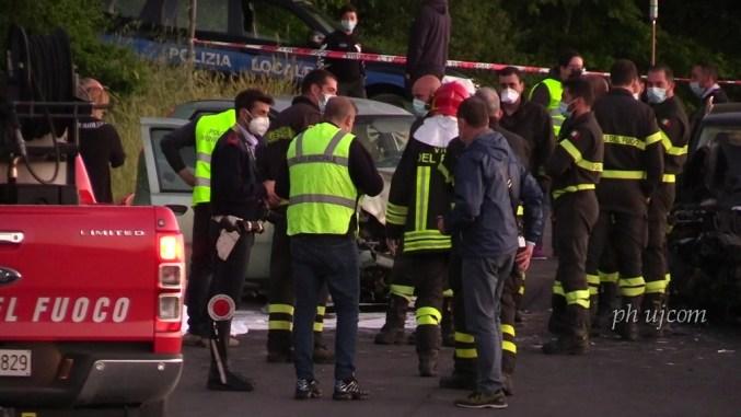 Bimba morta nell'incidente, oggi l'autopsia, ci sono due indagati
