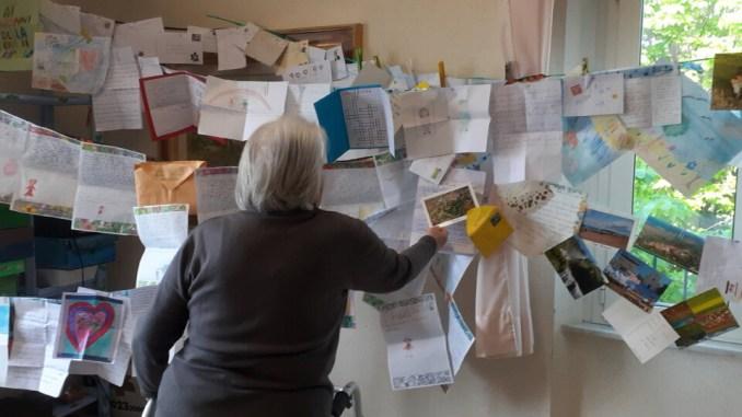 Un'ondata di affetto travolge gli ospiti delle due Residenze protette
