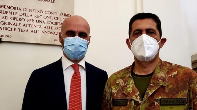 Anche secondo Figliuolo Umbria fa ottimo lavoro vaccini, dice Squarta