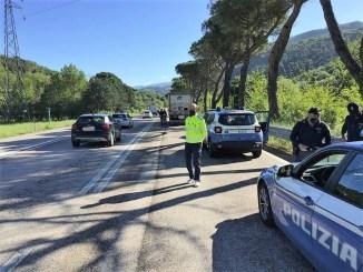 Controlli congiunti Polizia stradale Anas sul tratto Flaminia Terni Spoleto
