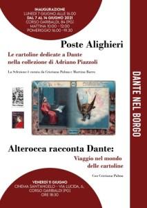 """Lunedì 14 giugno, """"Dante nel Borgo"""", da giugno a settembre tutti gli appuntamenti"""