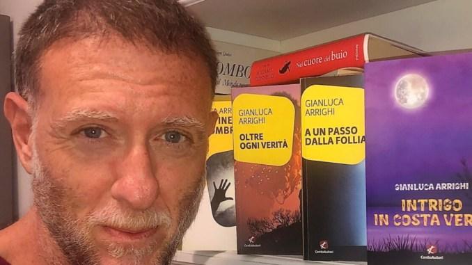 Mercoledì 16 giugno, Gianluca Arrighi Uno scrittore a Palazzo della Penna