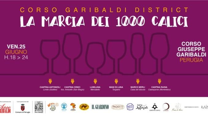 """Venerdì 25 giugno a Perugia andrà in scena """"La marcia dei 1000 calici"""""""