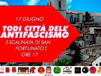 17 giugno 2021,città dell'antifascismo,manifestazione Todi