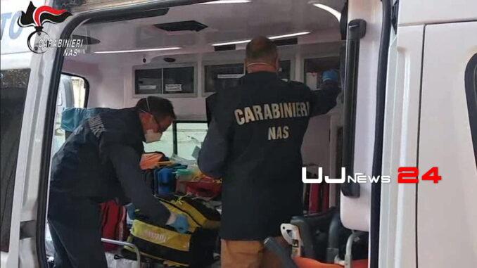 Verifiche Nas sulle ambulanze 1.297 in Italia, ok le 30 controllate in Umbria