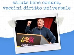 18 giugno, salute bene comune, ne parla Don Luigi Ciotti