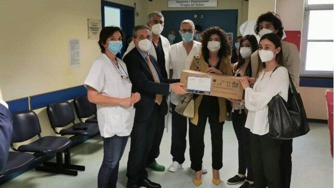 Spoleto, targa in memoria del dr. Giulio Tazza recentemente scomparso