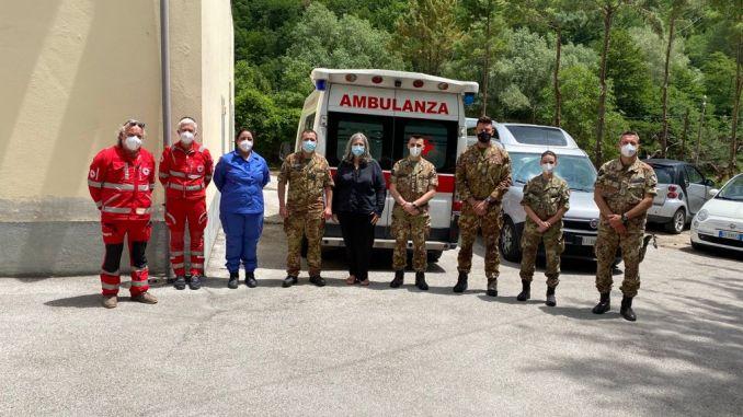 Esercito avvia campagna zone sisma Vallo di Nera, Poggiodomo e Polino