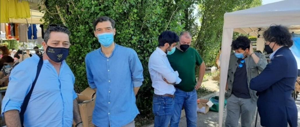Fratelli d'Italia in piazza, Mencaglia ascolto cittadini al primo posto