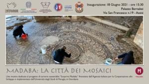 """18 giugno ad Assisi, UniPG presenta """"Madaba, la città dei mosaici"""""""