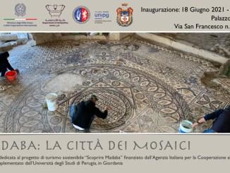 """18 giugno a Assisi, UniPG presenta """"Madaba, la città dei mosaici"""""""