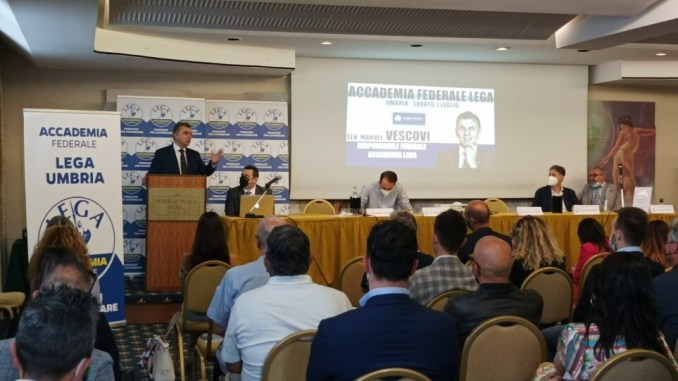 """Accademia Federale Lega Umbria """"Formare la classe dirigente del futuro"""""""