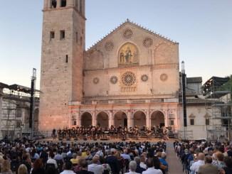 Banda musicale della Polizia di Stato in concerto al Festival dei Due Mondi