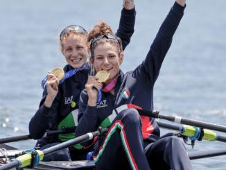 Olimpiadi Tokyo 2020,Canottaggiooro storico femminile, bronzo maschile